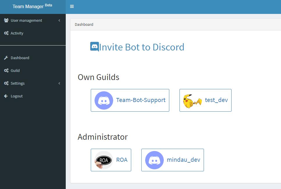 Discord Bot - Mindau   Blog